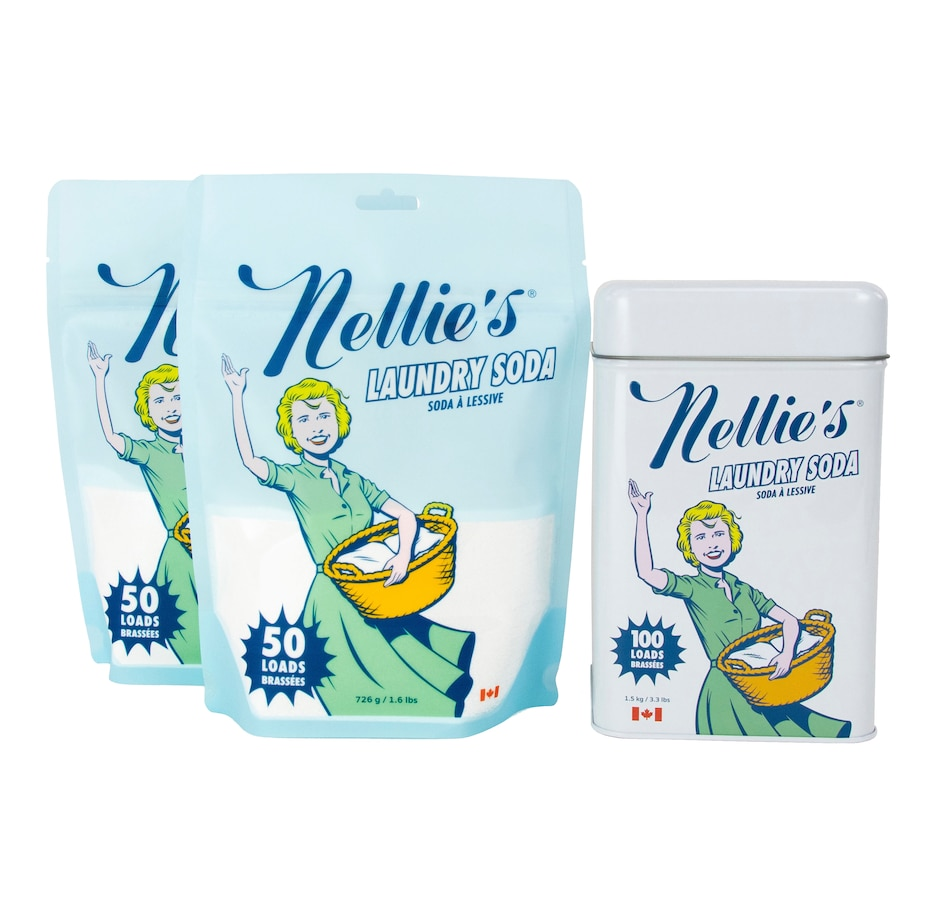 Image 505311.jpg , Product 505-311 / Price $40.00 , Nellie's Laundry Soda 200-Load Set from Nellie's Laundry on TSC.ca's Home & Garden department
