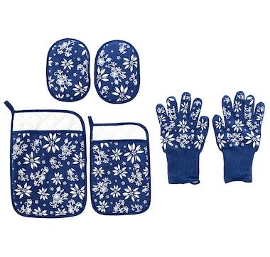 temp-tations 6-Piece Glove, Mitt and Trivet Set