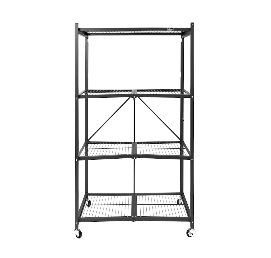 Image 505420_BLK.jpg , Product 505-420 / Price $169.99 , 4-Tier Heavy-Duty Large Rack from Origami Rack on TSC.ca's Home & Garden department
