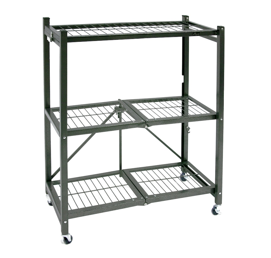 Image 505421_PEW.jpg , Product 505-421 / Price $129.99 , 3-Tier Foldable Shelf from Origami Rack on TSC.ca's Home & Garden department