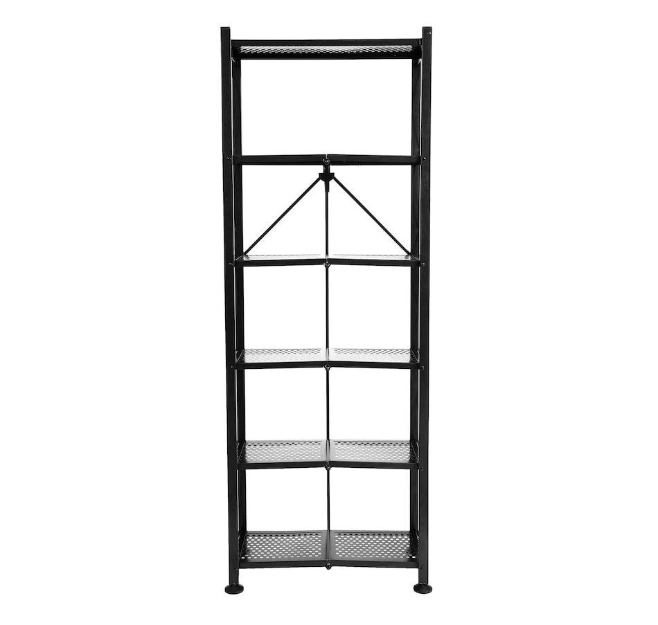 Image 505423_BLK.jpg , Product 505-423 / Price $149.99 , 6-Tier Book Shelf from Origami Rack on TSC.ca's Home & Garden department
