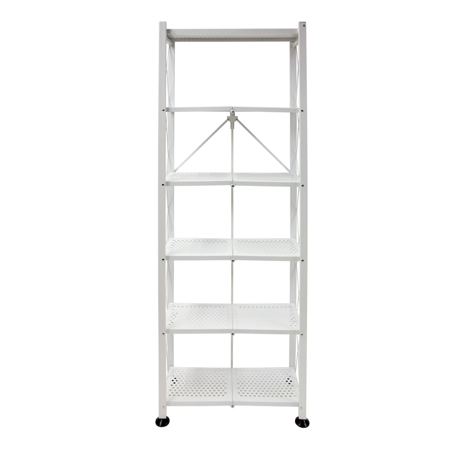 Image 505423_WHT.jpg , Product 505-423 / Price $119.99 , 6-Tier Book Shelf from Origami Rack on TSC.ca's Home & Garden department