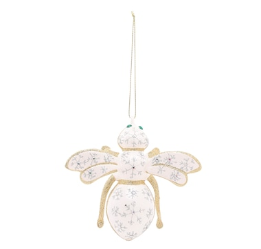 Joan Rivers Glistening Snowflake Bee Ornament