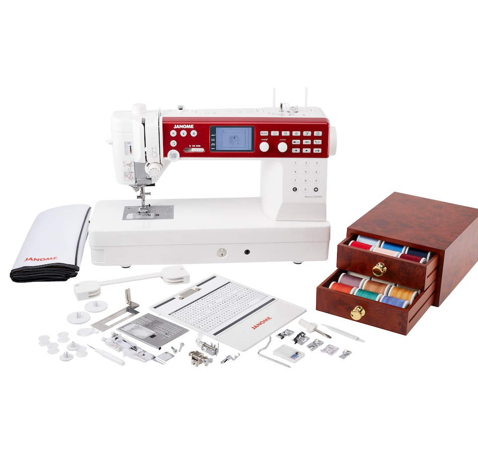 Image 505687.jpg , Product 505-687 / Price $3,348.99 , Janome MC6650 Computerized Sewing Machine Bundle from Janome on TSC.ca's Home & Garden department