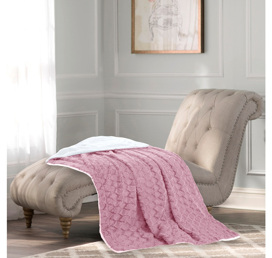Image 505705_RSE.jpg , Product 505-705 / Price $41.99 , St. Clair Plush Throw 50 x 70 from St. Clair Bedding on TSC.ca's Home & Garden department