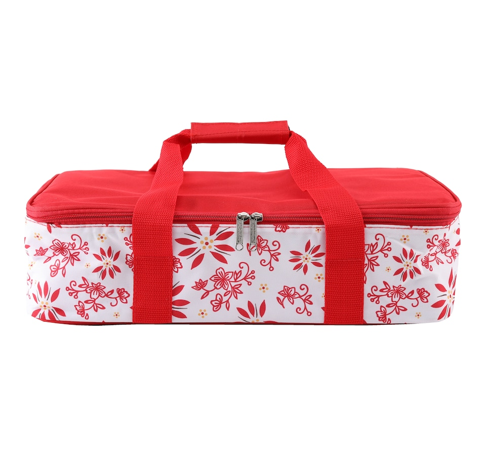 "Image 505757_RED.jpg , Product 505-757 / Price $41.99 , Temp-Tations 13"" x 9"" Insulated Baker Tote from Temp-tations on TSC.ca's Kitchen department"