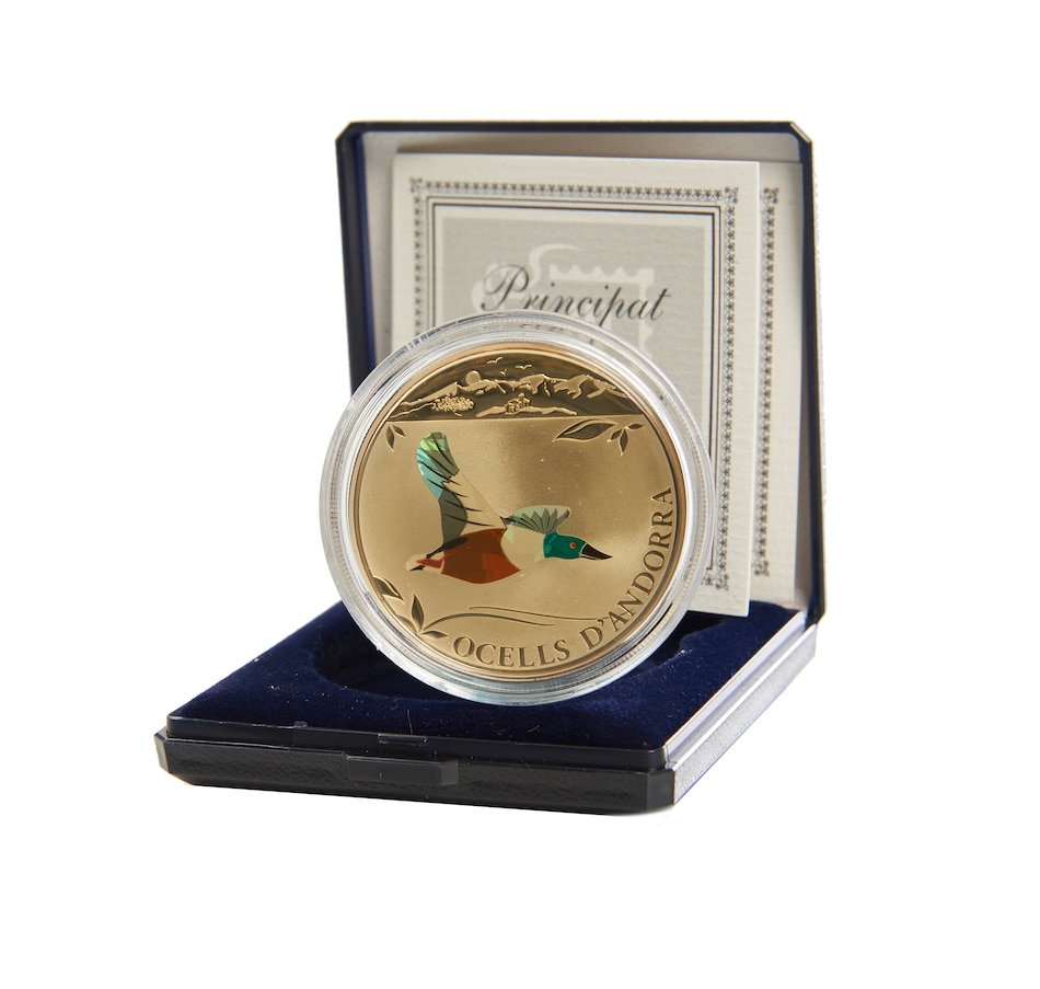 Image 505857.jpg , Product 505-857 / Price $89.95 , The Northern Shoveler Sterling Silver Coin from Royal Canadian Mint on TSC.ca's Coins department
