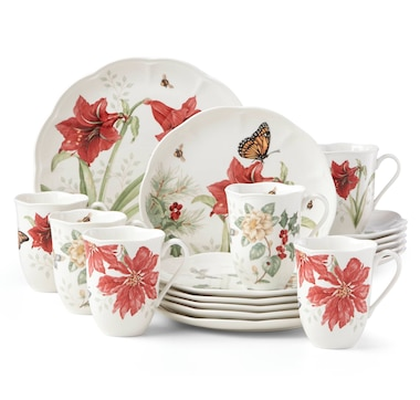 Butterfly Meadow™ 18-piece Holiday Dinnerware Set
