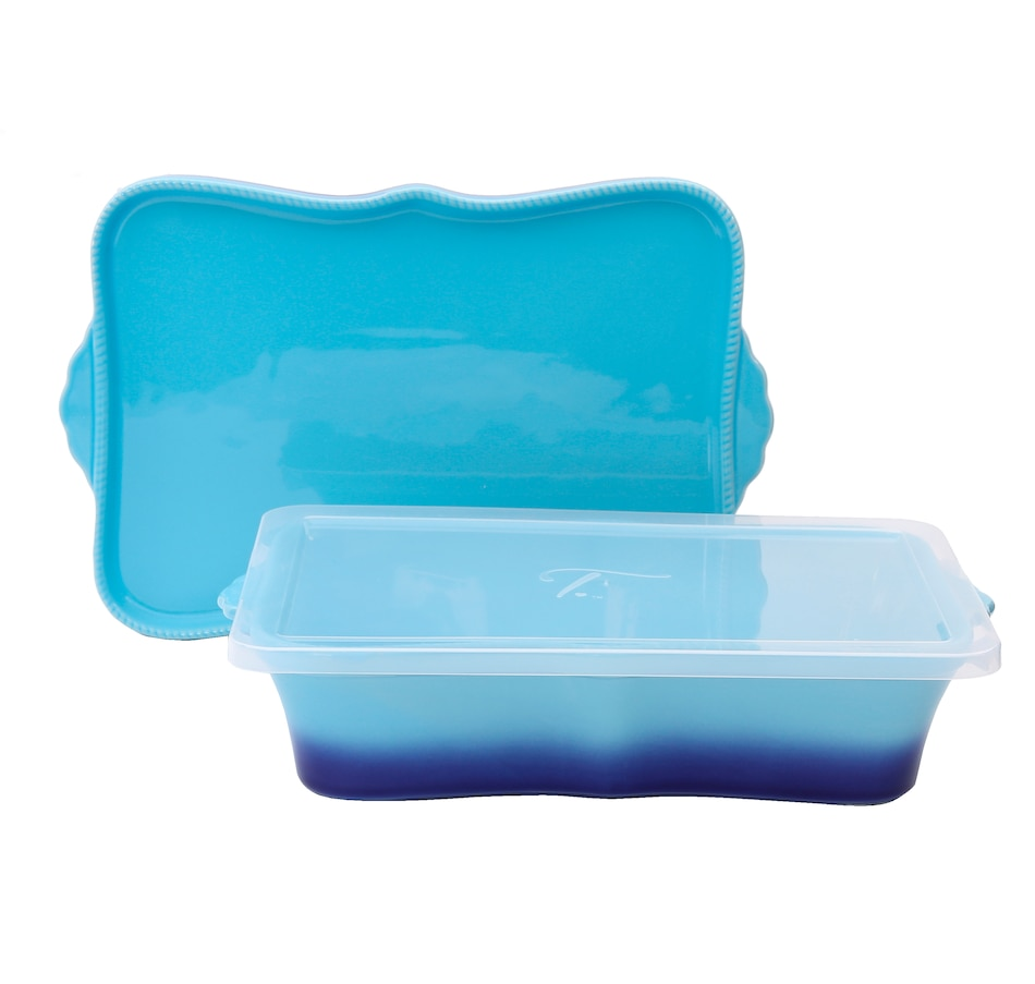 "Image 505898_BLU.jpg , Product 505-898 / Price $49.99 , temp-tations Tara at Home Ombre 13"" x 9"" Baker from Temp-tations on TSC.ca's Kitchen department"