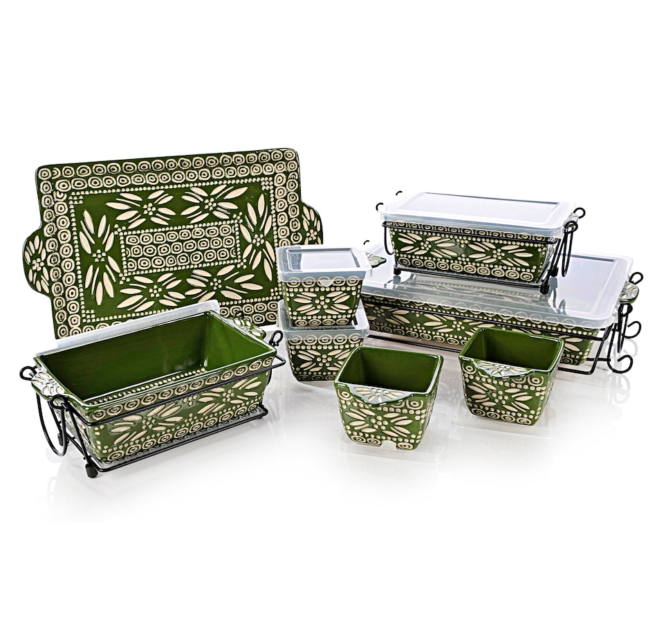 Buy temp-tations Carved Old World 20-Piece Oven-to-Table Set ...