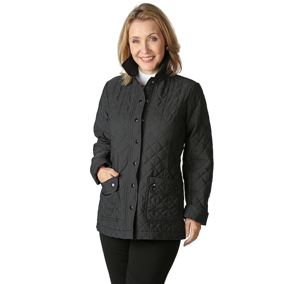 9a0f61554 Joan Rivers Quilted Barn Jacket