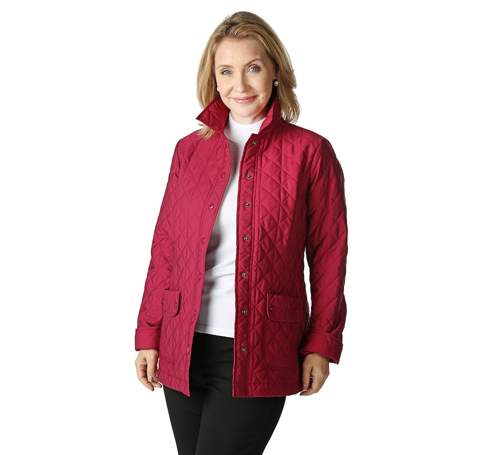 Buy Joan Rivers Quilted Barn Jacket Fashion Blazers Jackets