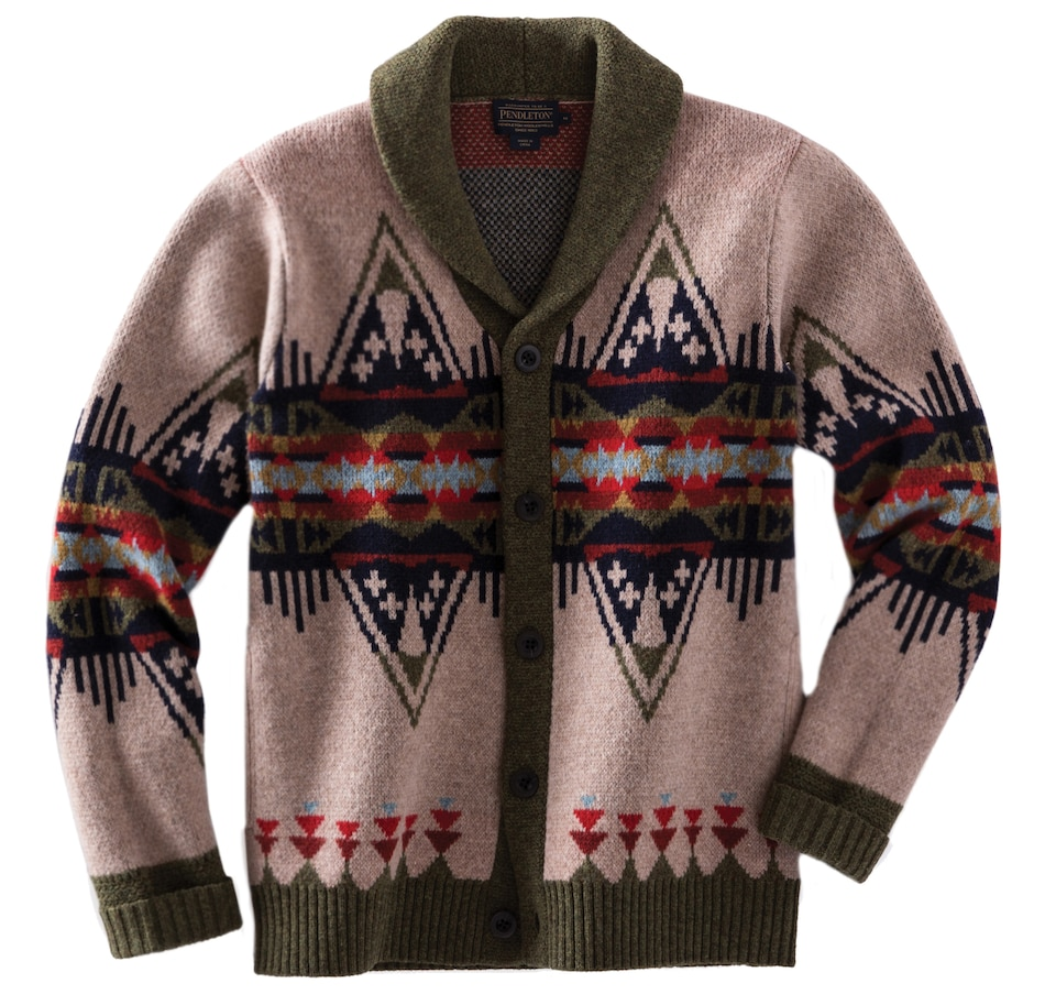 Image 521020_MTI.jpg , Product 521-020 / Price $379.00 , Pendleton Journey East Men's Sweater from Pendleton on TSC.ca's Men's Shop department