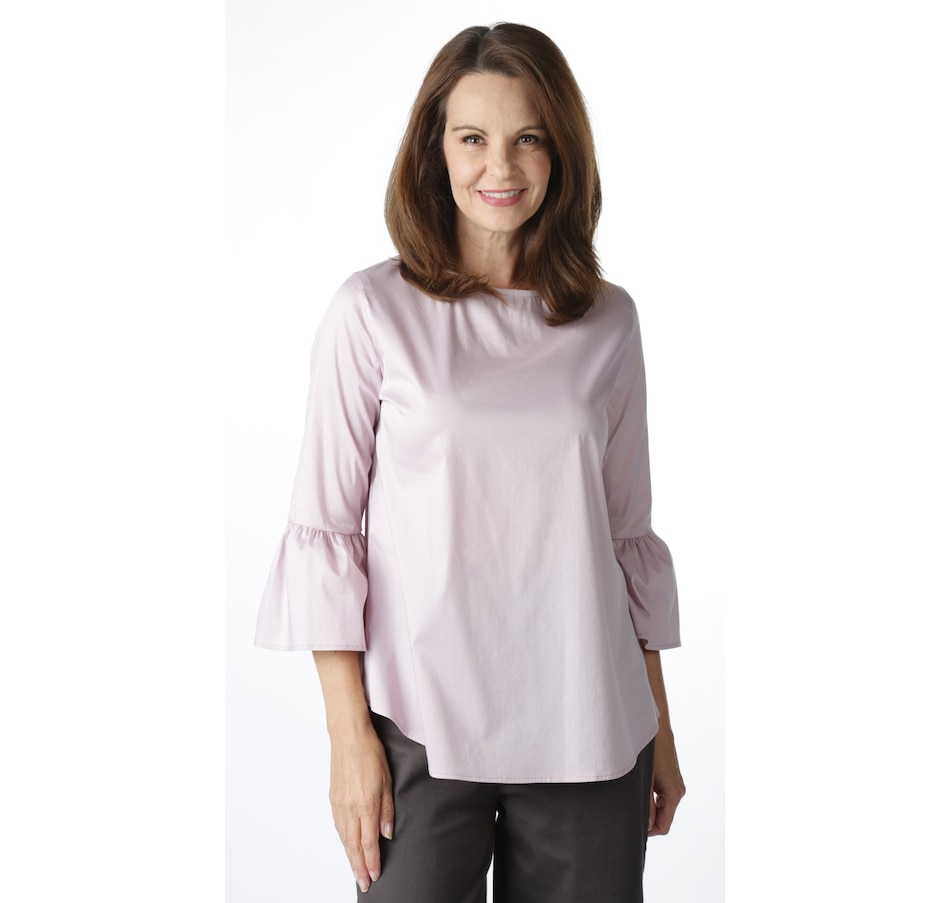 Image 521639_RSE.jpg , Product 521-639 / Price $18.33 , Bellina Bell Sleeve Shirt from Bellina on TSC.ca's Fashion department