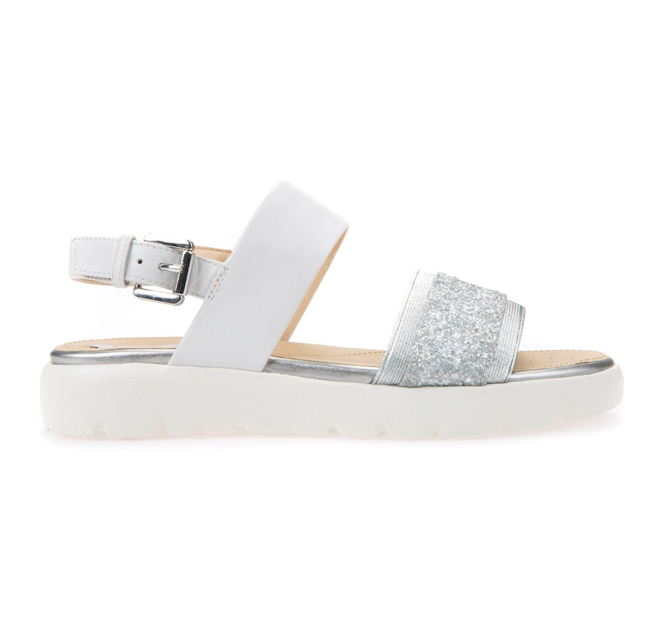 Image 522450_WHT.jpg , Product 522-450 / Price $49.99 , Geox Amalitha Sandal from Geox on TSC.ca's Shoes & Handbags department