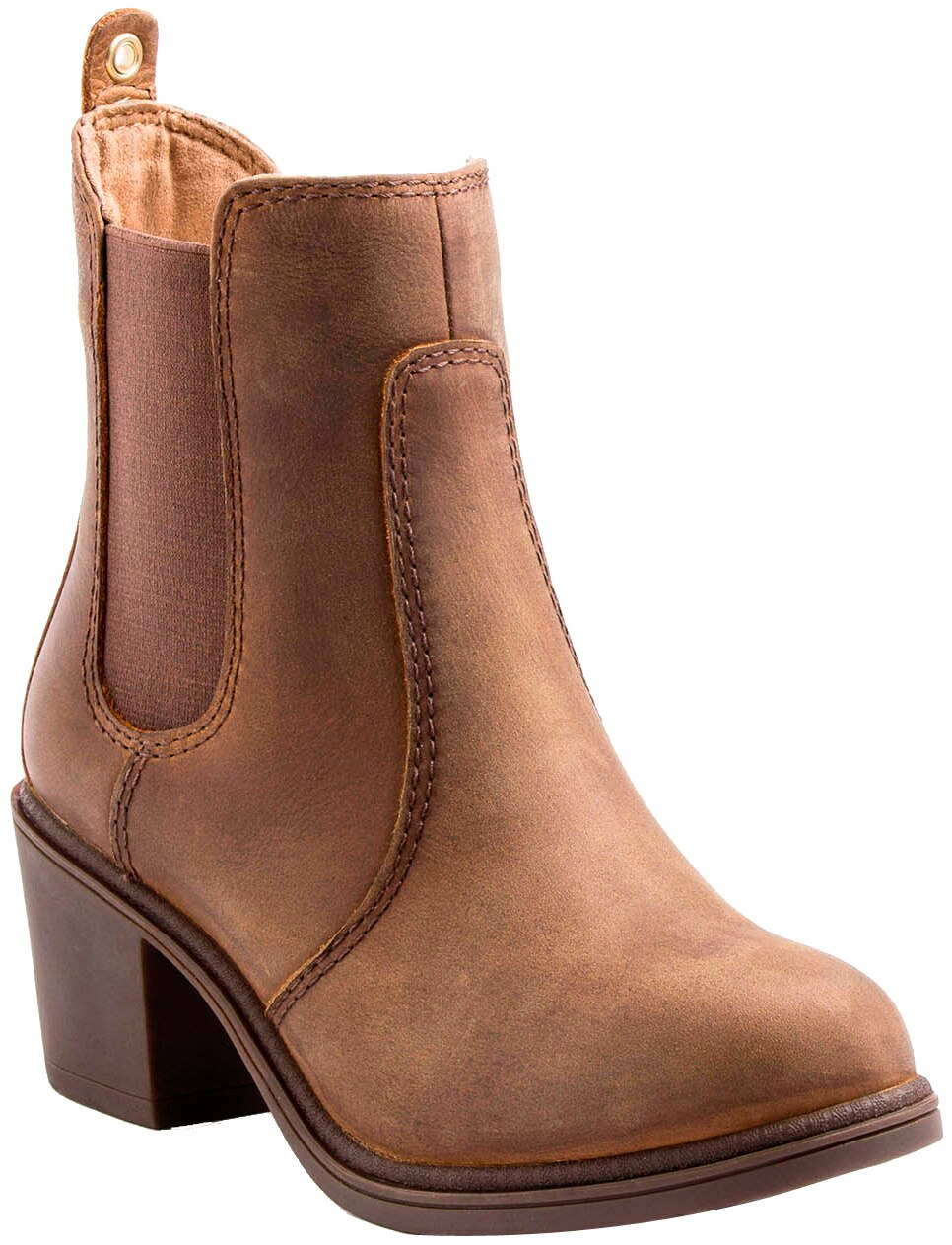 Kodiak Henna Waterproof Leather Ankle Boot