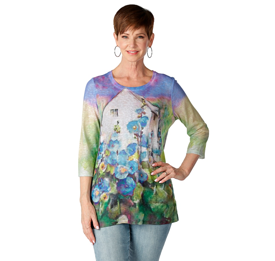 Image 523589_ESB.jpg , Product 523-589 / Price $15.33 , Bellina Sublimation Top from Bellina on TSC.ca's Fashion department