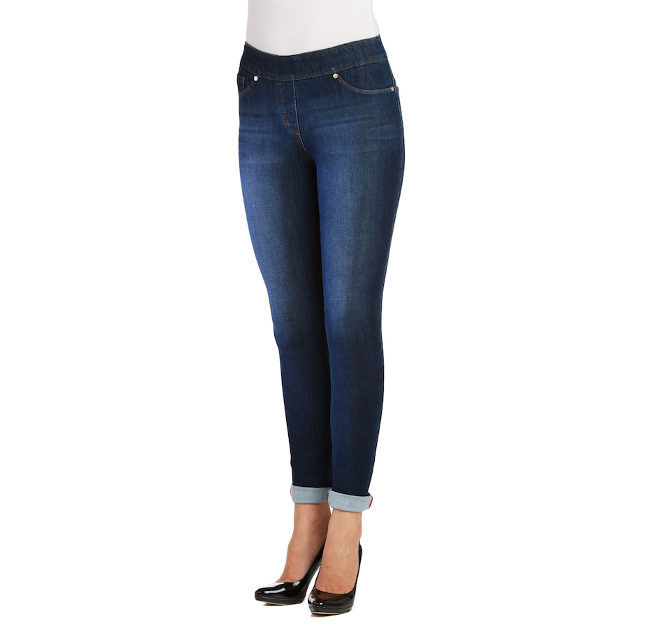 Image 524095_DID.jpg , Product 524-095 / Price $59.00 , Nygard SLIMS Luxe Denim Skinny Cuff Jean from Nygard Slims Fashion on TSC.ca's Fashion department
