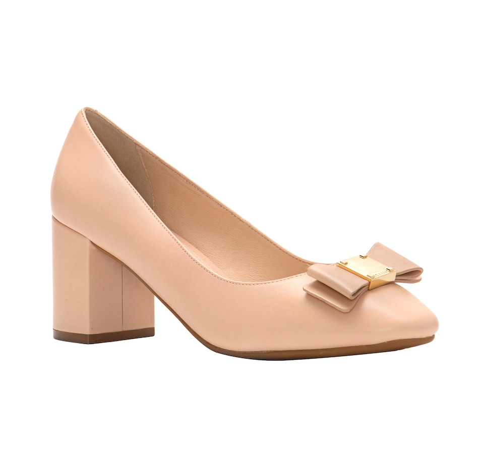 Image 524377_NUD.jpg , Product 524-377 / Price $129.33 , Cole Haan Tali Bow Pump from Cole Haan Footwear on TSC.ca's Shoes & Handbags department