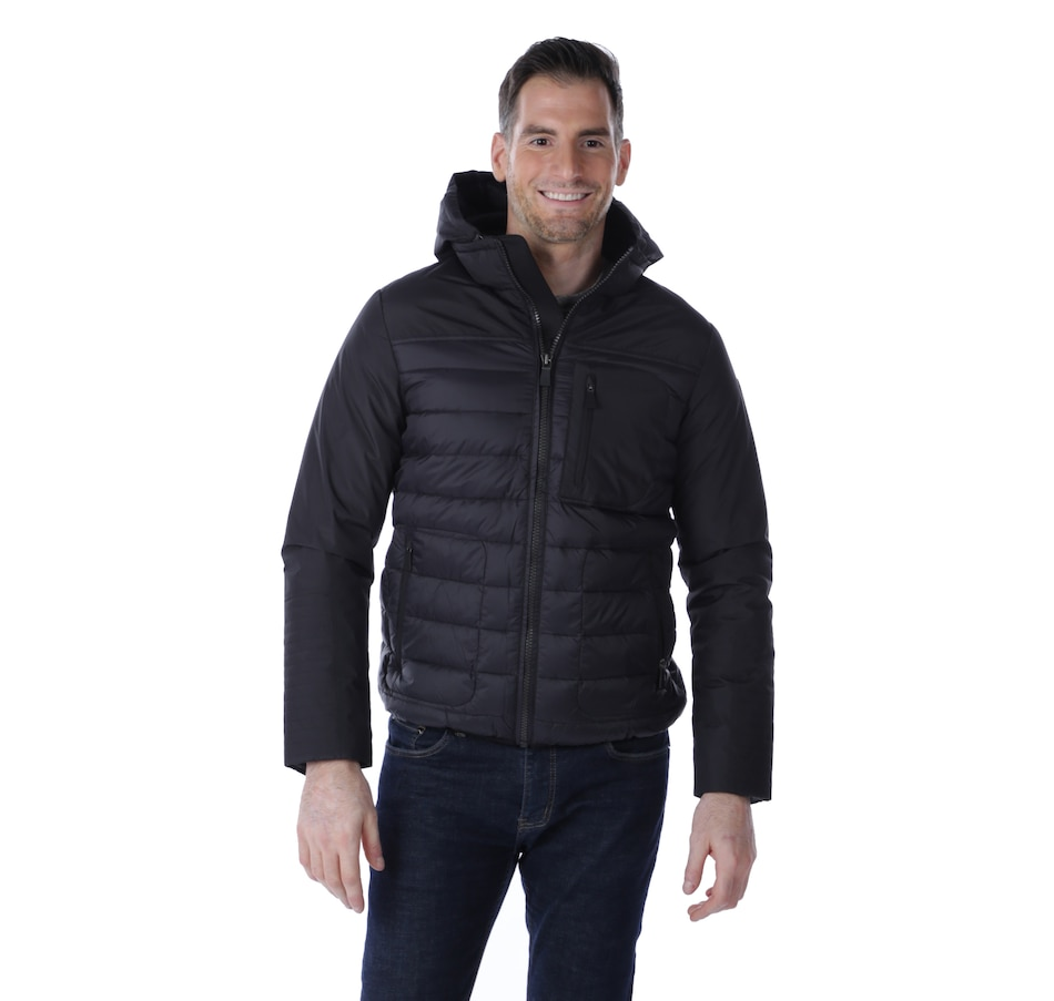 Image 524907_BLK.jpg , Product 524-907 / Price $209.88 , Pajar Outerwear Kyle Men's Mixed Media Jacket from Pajar on TSC.ca's Men's Shop department