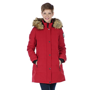 Arctic Expedition Women's Quilted Down Parka