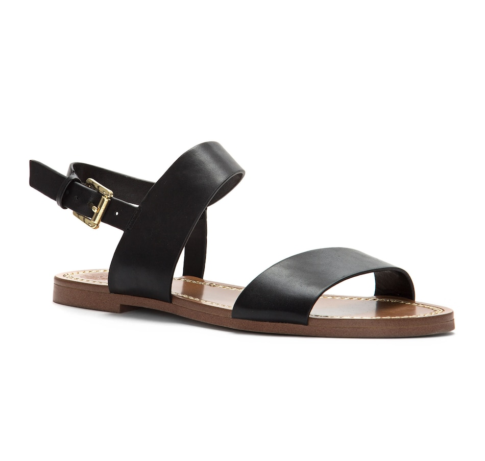 Image 525953_BLK.jpg , Product 525-953 / Price $49.33 , Vince Camuto Rentin Ankle Strap Sandal from Vince Camuto on TSC.ca's Shoes & Handbags department