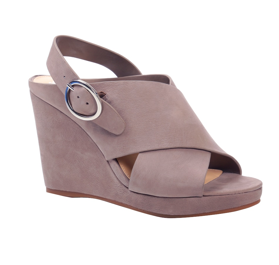 Image 525956_GRY.jpg , Product 525-956 / Price $69.33 , Vince Camuto Iteena Wedge Sandal from Vince Camuto on TSC.ca's Shoes & Handbags department