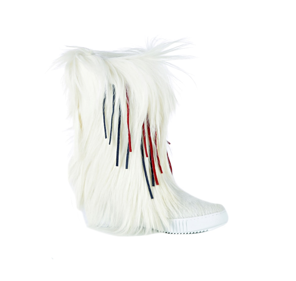 Image 526173_WHT.jpg , Product 526-173 / Price $339.88 , Pajar Cher 2 Apres Ski Boot with Fringe from Pajar - Women on TSC.ca's Shoes & Handbags department