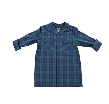 Pendleton Men's Black Watch Tartan Board Shirt