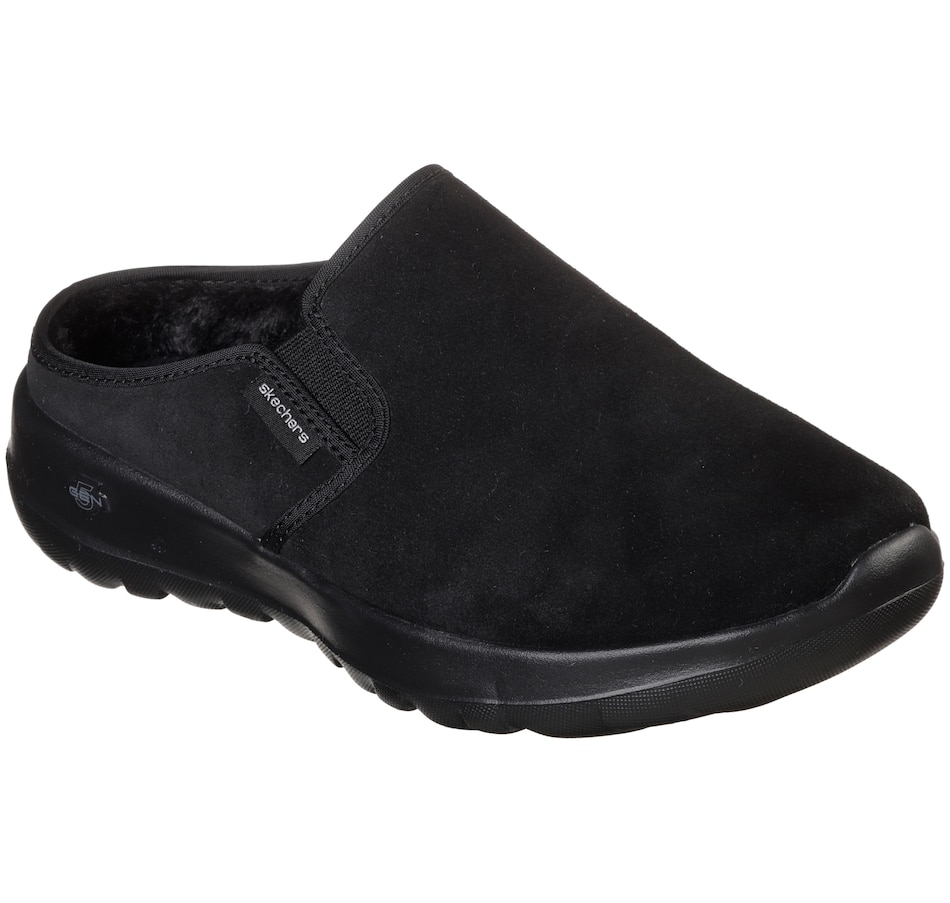 Image 526407_BLK.jpg , Product 526-407 / Price $32.33 , Skechers On The Go Joy Snuggly Lined Clog from Skechers Footwear on TSC.ca's Shoes & Handbags department