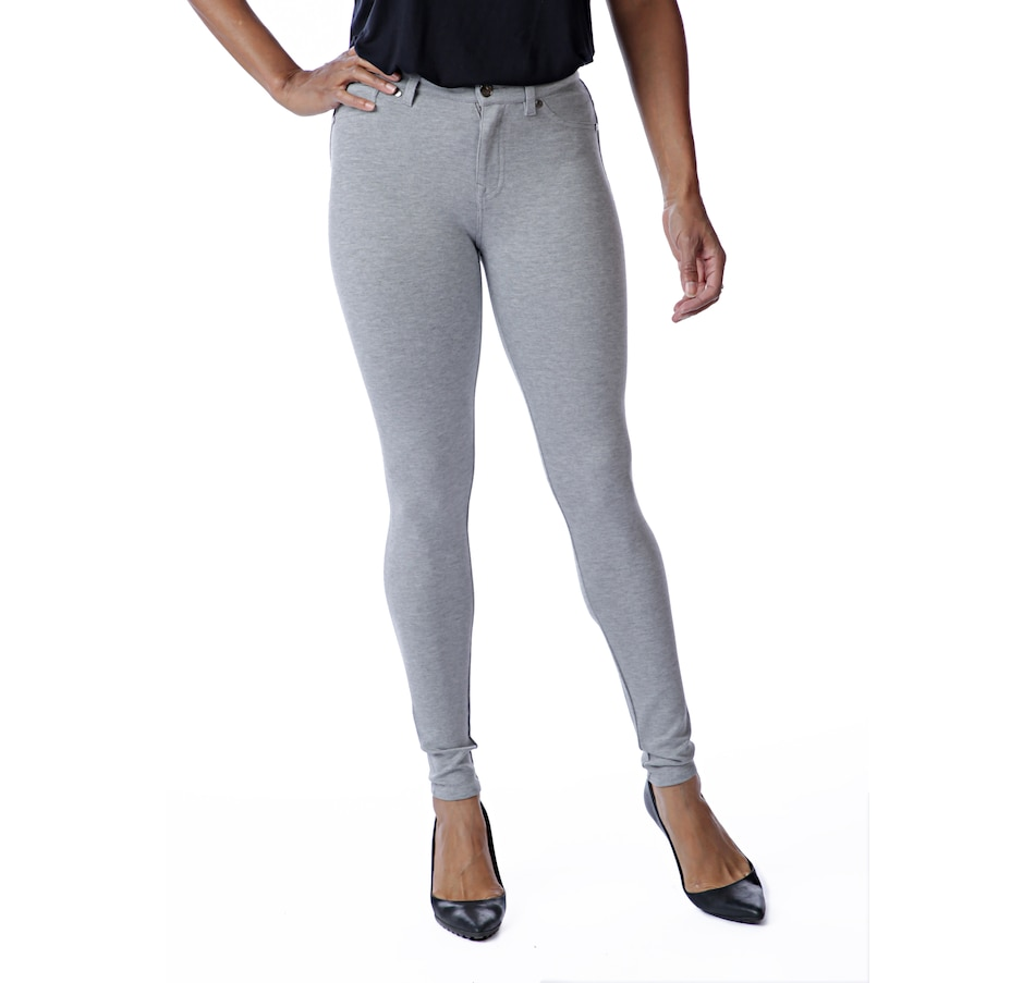 Image 526614_HGY.jpg , Product 526-614 / Price $19.33 , DG2 by Diane Gilman Seamless Ponte Lean Jean from DG2 by Diane Gilman on TSC.ca's Fashion department