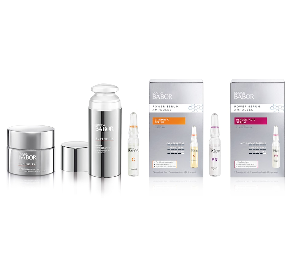 Image 526722.jpg , Product 526-722 / Price $175.00 , BABOR Refine, Brighten and Protect Bundle from Babor on TSC.ca's Beauty department