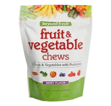 Beyond Fresh Fruit & Vegetable Chews