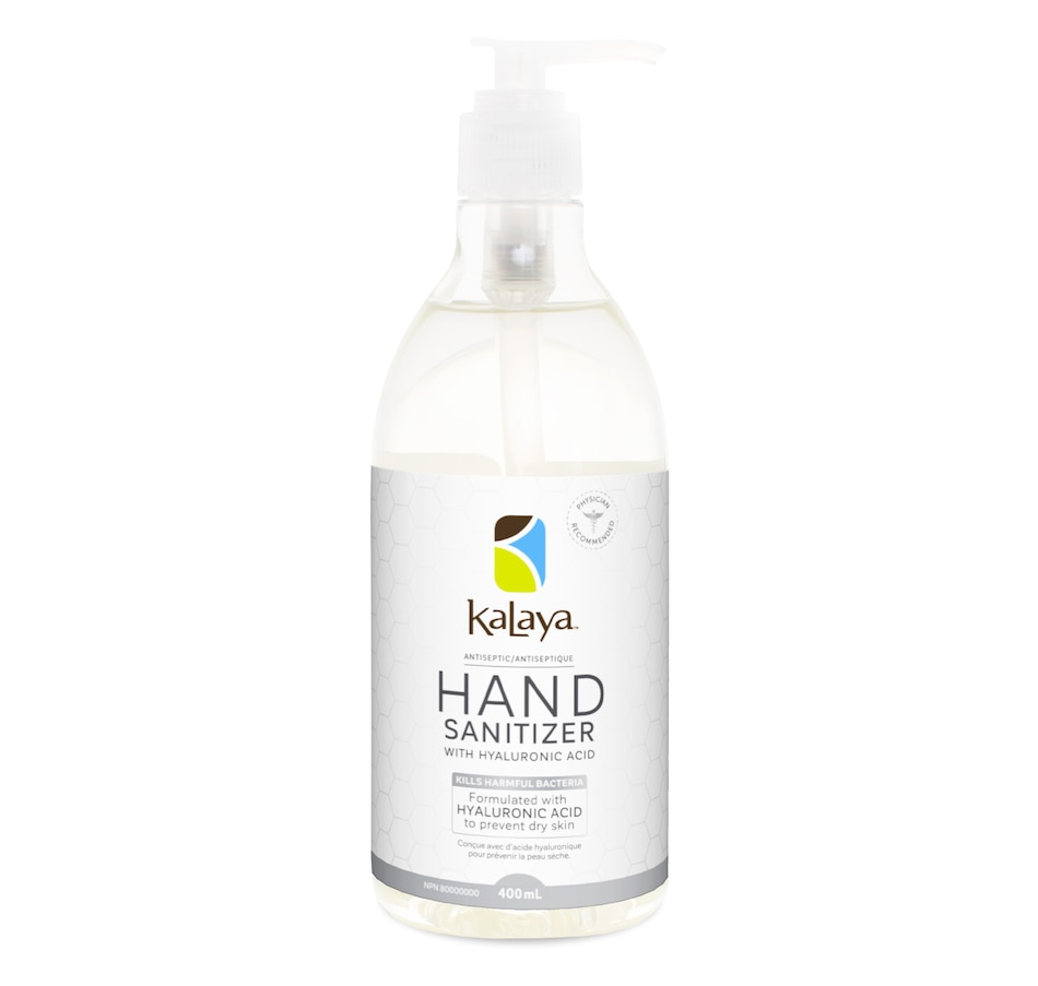 Image 526975.jpg , Product 526-975 / Price $13.99 , Kalaya Hand Sanitizer Gel (400 ml) from Kalaya on TSC.ca's Beauty department