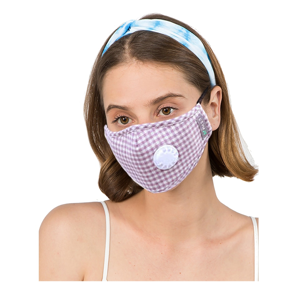 Image 527642_LPK.jpg , Product 527-642 / Price $24.99 , Only Accessories Gingham Mask with Filter from Only Accessories on TSC.ca's Fashion department