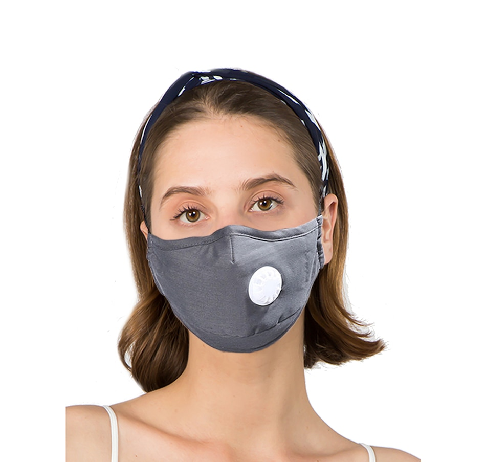 Image 527643_GRY.jpg , Product 527-643 / Price $9.88 , Only Accessories Solid Mask with Filter from Only Accessories on TSC.ca's Fashion department