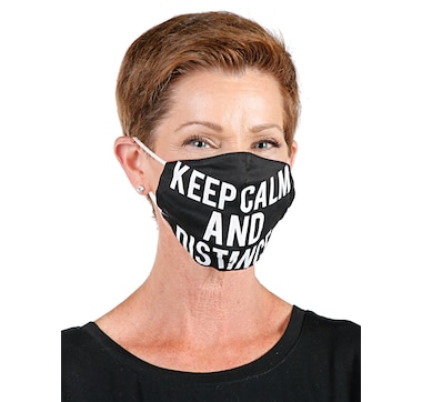 Only Accessories Unfiltered Cotton Fashion Mask