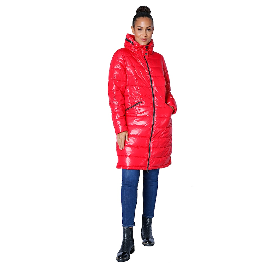 Image 527954_RED.jpg , Product 527-954 / Price $199.88 , Arctic Expedition Ladies Cire Parka with Packable Hood from Arctic Expedition Women's on TSC.ca's Fashion department