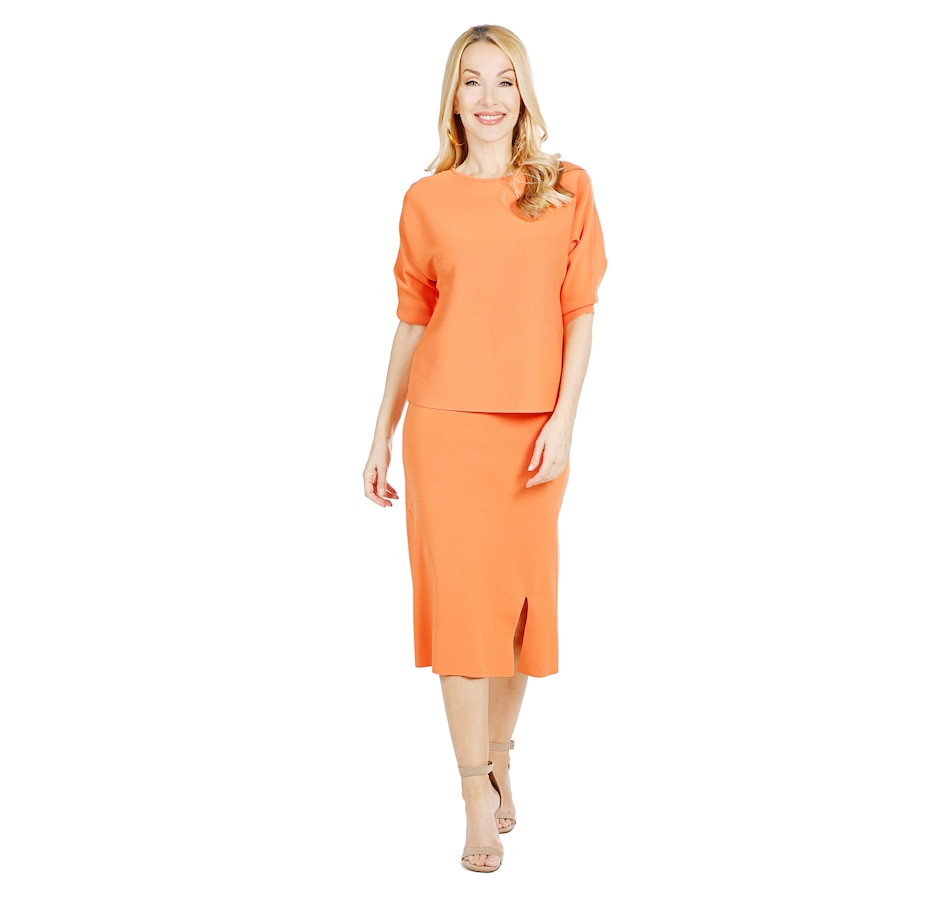 Image 528018_CTL.jpg , Product 528-018 / Price $89.33 , Brian Bailey Knit Top & Skirt Set from Brian Bailey on TSC.ca's Fashion department