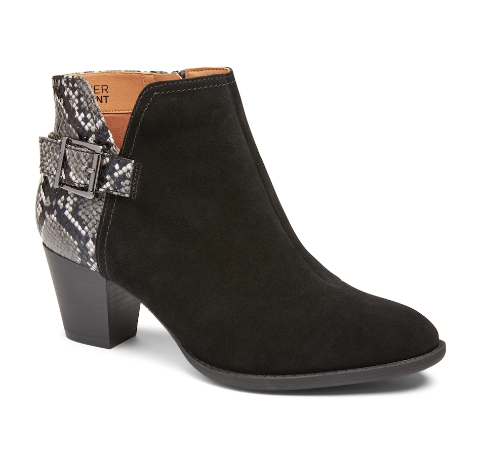 Image 528171_BLK.jpg , Product 528-171 / Price $219.95 , Vionic Naomi Bootie from Vionic on TSC.ca's Shoes & Handbags department