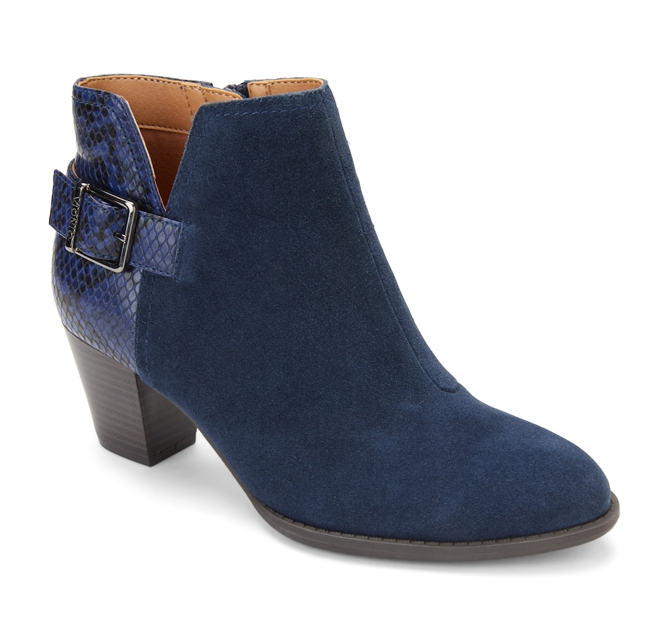 Image 528171_NVY.jpg , Product 528-171 / Price $139.99 , Vionic Naomi Bootie from Vionic on TSC.ca's Shoes & Handbags department