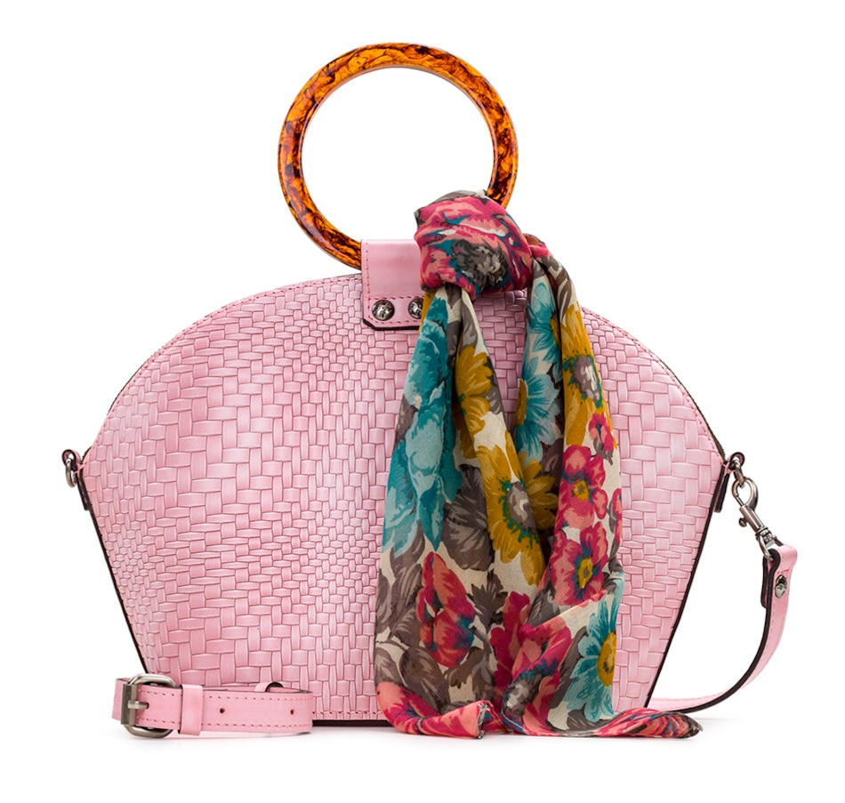 Image 528241_BUH.jpg , Product 528-241 / Price $149.99 , Patricia Nash Meldola Leather Bag from Patricia Nash on TSC.ca's Shoes & Handbags department
