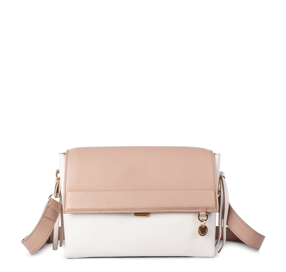Image 528273_NUDCO.jpg , Product 528-273 / Price $129.88 , Celine Dion Leather Crossbody from Céline Dion Collection on TSC.ca's Shoes & Handbags department