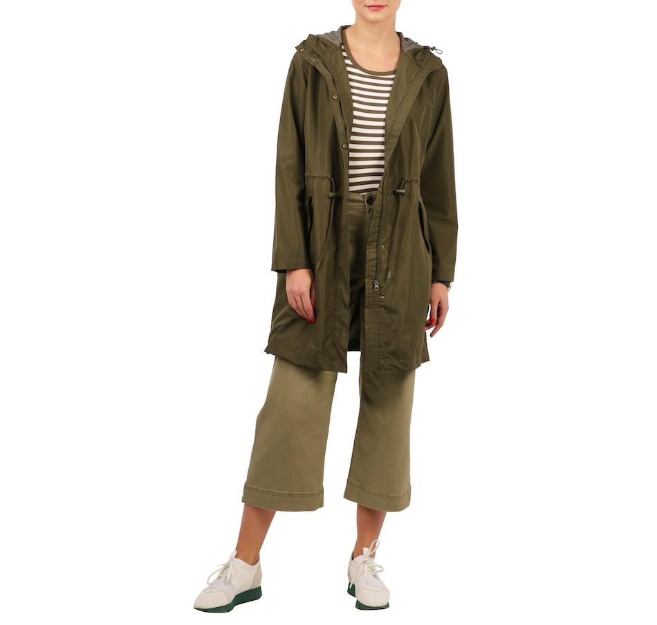 Image 528573_DKOL.jpg , Product 528-573 / Price $198.00 , PINK TARTAN Zip Front Anorak from PINK TARTAN on TSC.ca's Fashion department