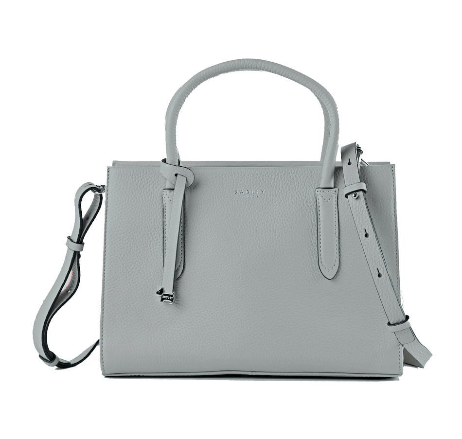 Image 528594_ASH.jpg , Product 528-594 / Price $249.99 , Radley London Leather Arlington Court Zip Top Multiway Satchel from Radley London on TSC.ca's Shoes & Handbags department