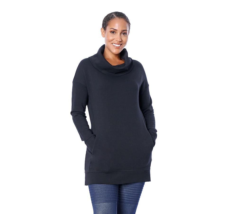 Image 528777_BLK.jpg , Product 528-777 / Price $89.88 , Terrera Amey Cowl Neck Tunic from Terrera Fashion on TSC.ca's Fashion department