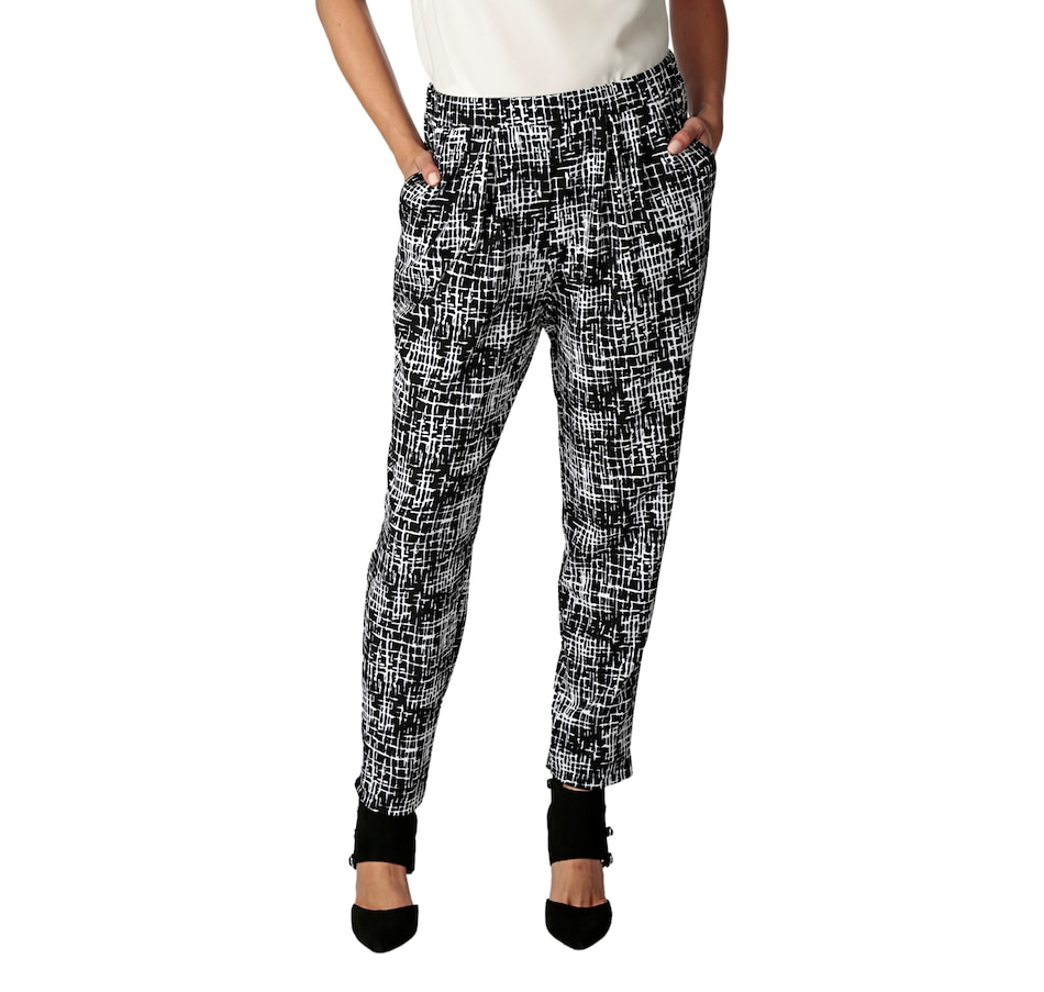 Image 535950_BKW.jpg , Product 535-950 / Price $59.33 , Tracy Moore Designed by Freda's Jogger Pant from Tracy Moore Designed by Freda's on TSC.ca's Fashion department