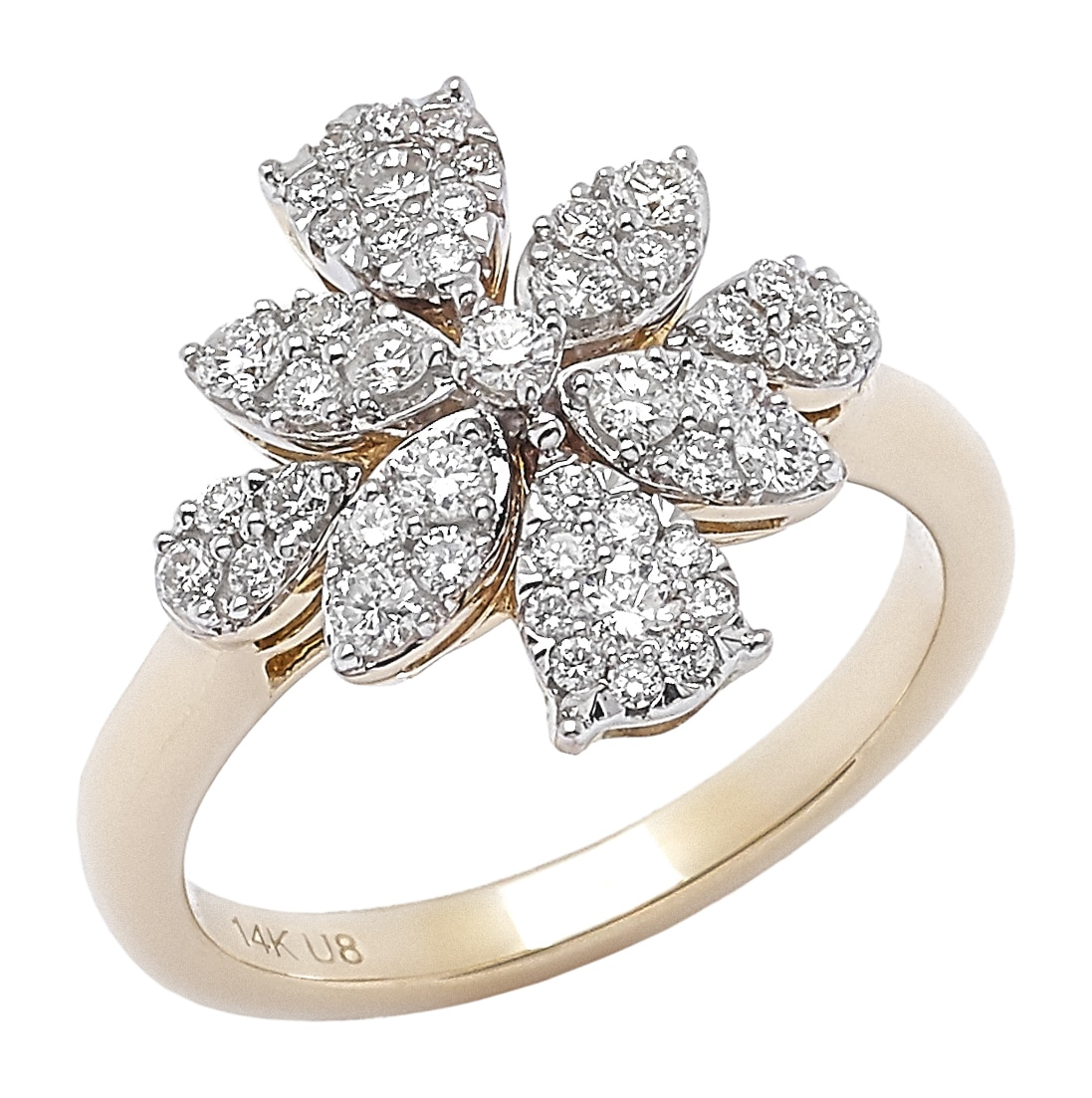 Buy 14K Whimsical Diamond Ring Holiday 2016 Jewellery Rings