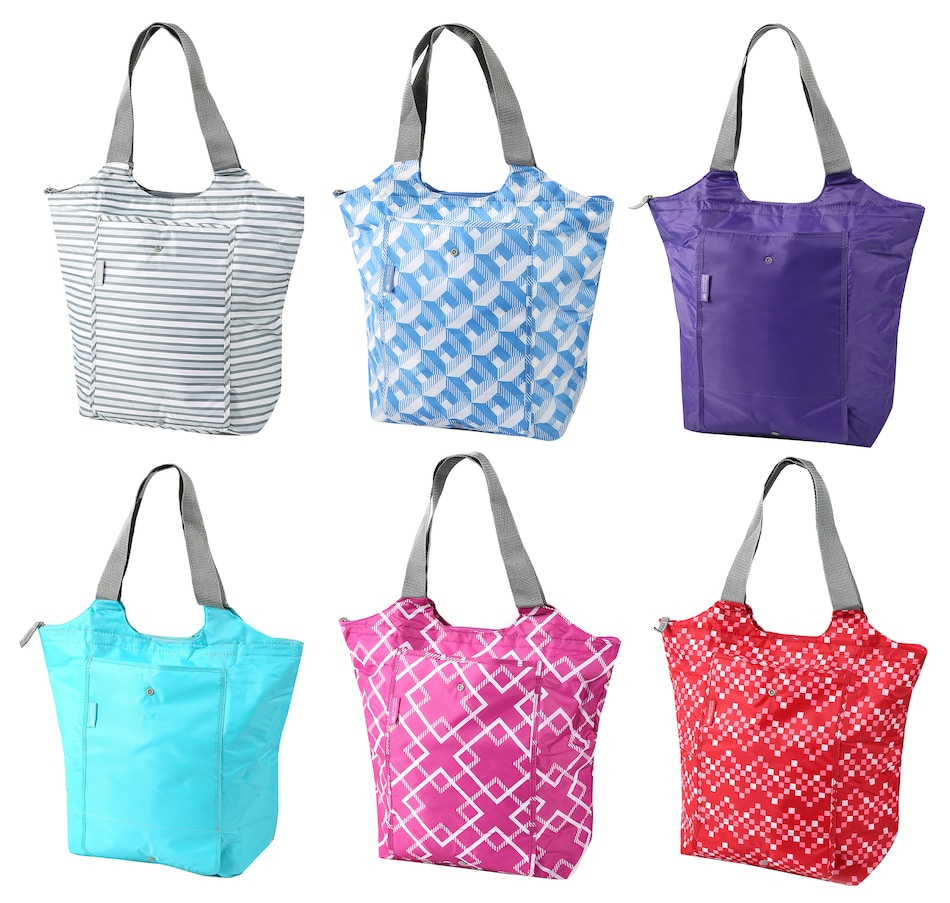 Image 543196_SLDMX.jpg , Product 543-196 / Price $39.99 , California Innovations Market Totes (Set of 6) from California Innovations on TSC.ca's Holiday Gift Shop department