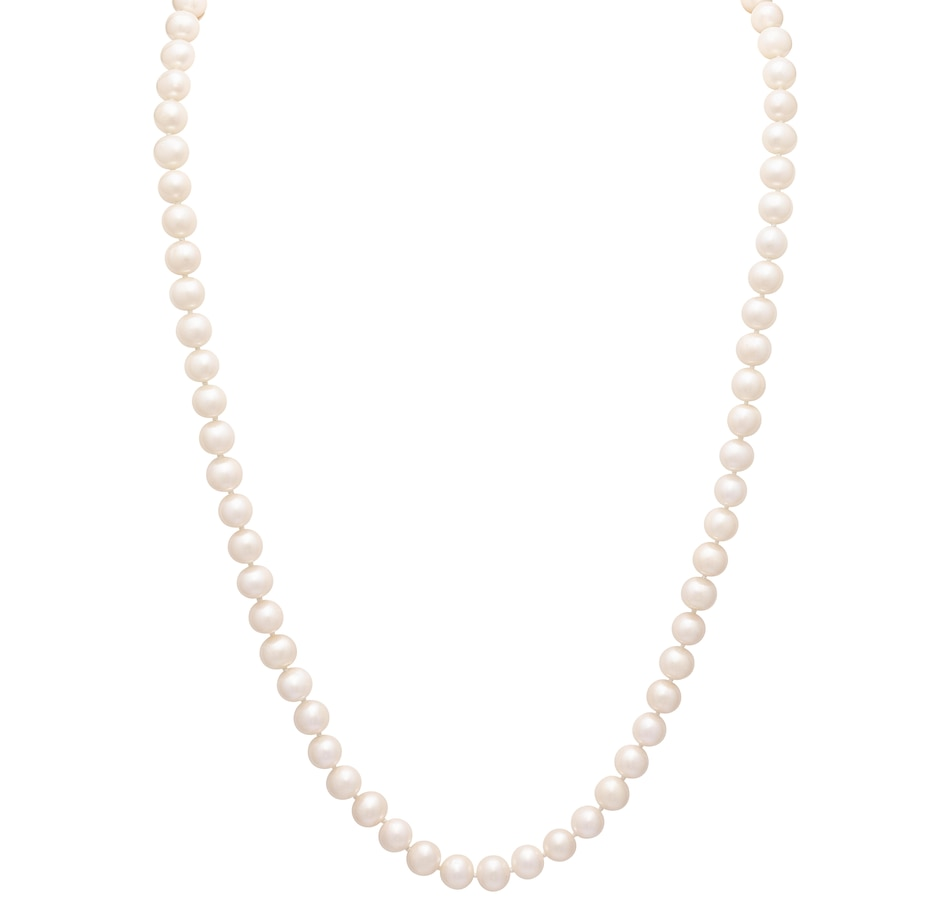 """Image 545596_WHT.jpg , Product 545-596 / Price $299.99 , Imperial Pearls 14K Yellow Gold 8.5-9.5 mm Freshwater Pearl 36"""" Necklace from Imperial Pearls on TSC.ca's Jewellery department"""